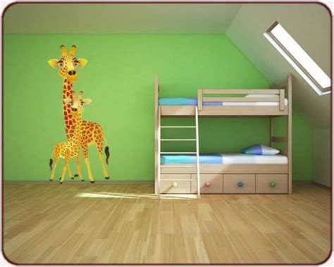 chambre la girafe décoration girafe chambre bebe