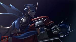 Optimus Prime and Arcee by Montano-Fausto on DeviantArt