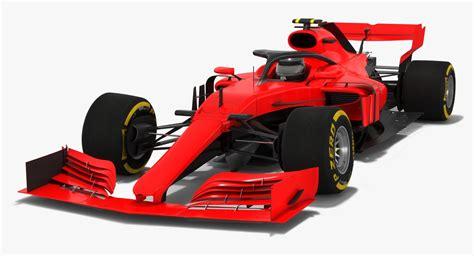F1 Model Cars by 3d Model Formula 1 2019 Concept Car Turbosquid 1312811