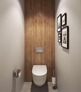 Deco Wc Gris : 1001 id es d co toilettes originales changer le train train quotidien ~ Melissatoandfro.com Idées de Décoration