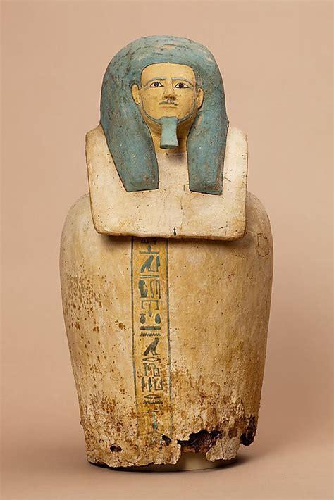 canap ik canopic jar of period middle kingdom dynasty dynasty
