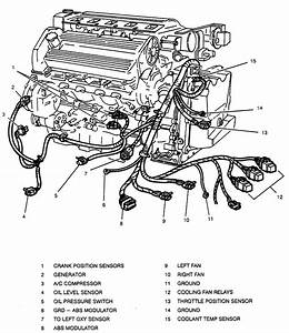 1998 Cadillac Deville Engine Diagram