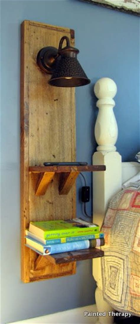 Wall Mounted Nightstand Diy by Such A Great Idea To Build A Wall Mounted Stand When