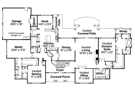 floor plans mansions house plans laurelwood 30 722 associated designs