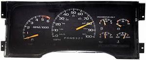 1996 Chevrolet    Gmc Suburban  Tahoe  U0026 Yukon Instrument