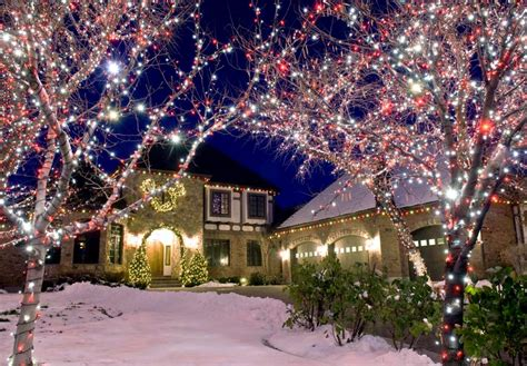 edmonton christmas lights christmas lights installers ab