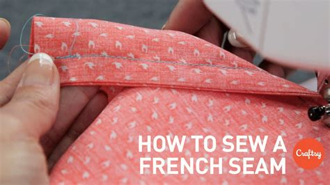 How To Sew A French Seam Stepbystep  Sewing Tutorial