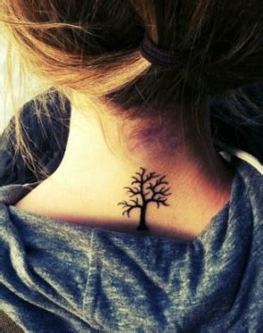 sensual neck tattoos  women page    trend