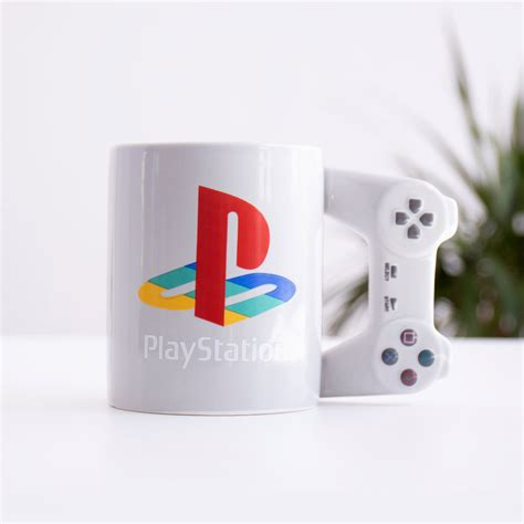 Playstation Controller Coffee Mug Live In Your World