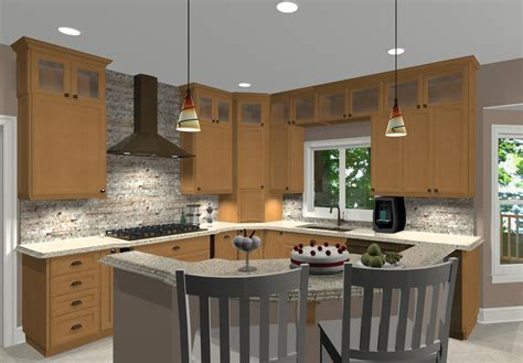 oval kitchen islands different island shapes for kitchen designs and remodeling