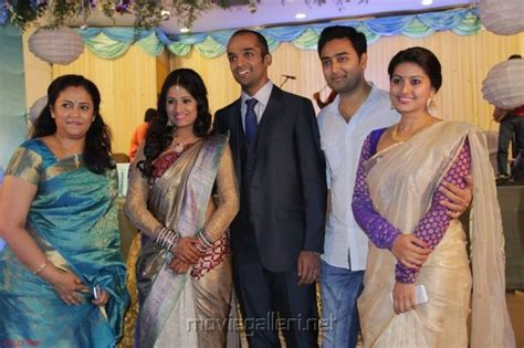 actress lakshmi daughter wedding picture 627526 prasanna sneha lakshmi ramakrishnan