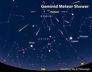 Geminid Meteor Shower Coming on December 13-14 - Sky ...