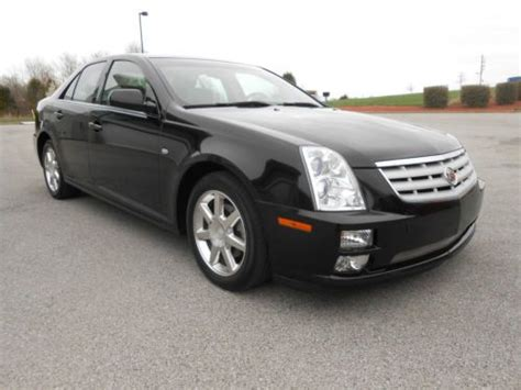 buy car manuals 2005 cadillac sts security system sell used 2005 cadillac sts base sedan 4 door 4 6l black with tan leather one owner nice in