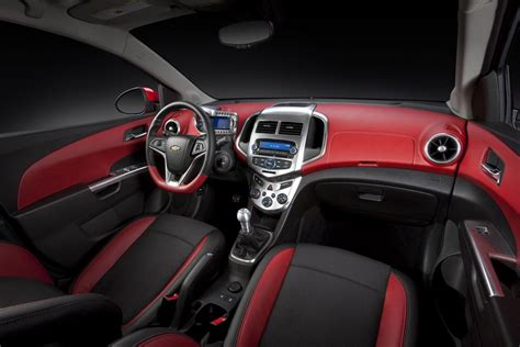 Red And Black Chevy Cruze Interior