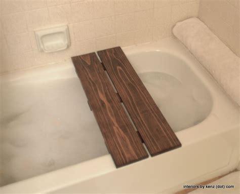 diy spa bath tub caddy diy bathtub bath bench diy spa