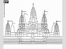 Kleurplaten Monumenten en andere bezienswaardigheden in