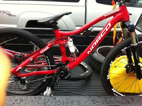 sam duecks prototype norco slopestyle bike prototype
