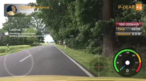 p gear p600 100 200 km h vw golf gti p gear p600 performance box