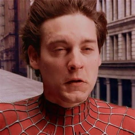 Tobey Maguire Face Meme - peter parker funny face www pixshark com images galleries with a bite