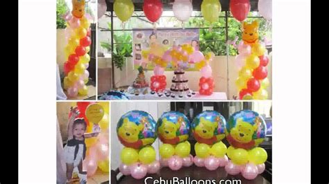 Winnie The Pooh Decoration Ideas - winnie the pooh birthday decorations