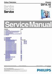 Philips 48pfs8109 48pfs8209 48pfs8159 Tv Service Manual
