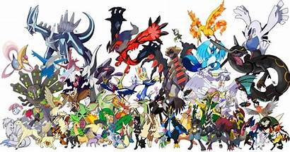 Pokemon Legendary Wallpapers Trainers Parties Every Shiny