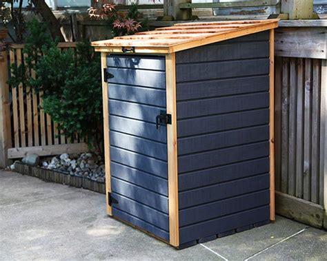 garbage bin storage shed compact storage shed for garbage bins recycling bins