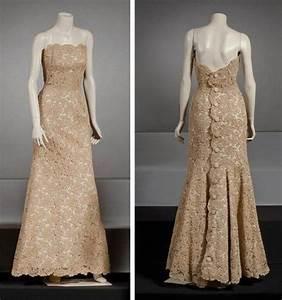 jean patou haute couture circa 1945 1950 robe longue en With robe en guipure