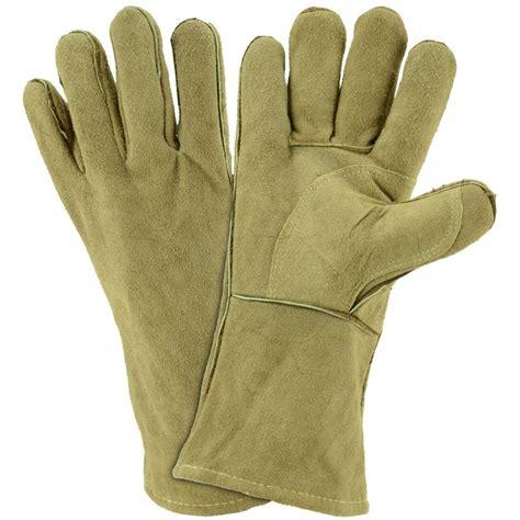 shop blue hawk large unisex leather multipurpose gloves at lowes com