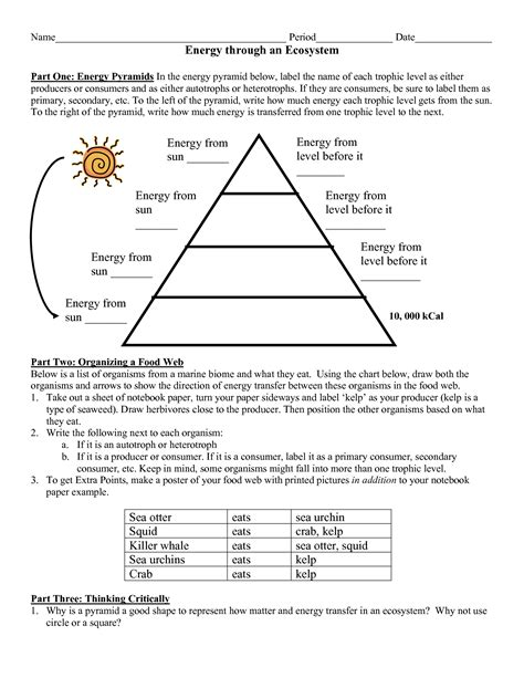 12 Best Images Of Energy Pyramid Worksheet Middle School  How Many Valence Electrons Does