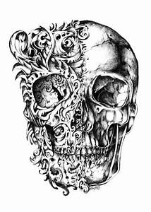 Rene Campbell http://rene-art.tumblr.com/ | skulls ...
