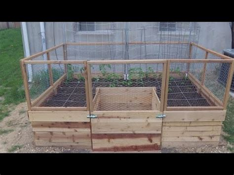 around the home 25 building a u shaped raised bed part 1