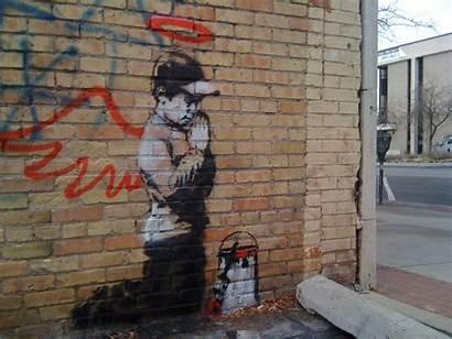Banksy Graffiti Street Utah Wallpapers Film Sign