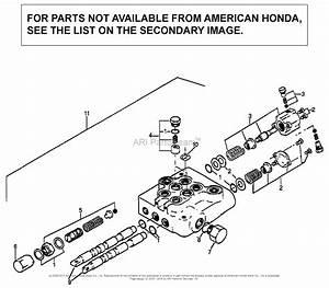Honda Fl6555 A Lawn Tractor  Usa Parts Diagram For