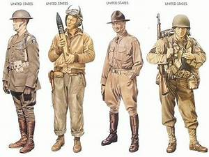 Why did the American WWII uniforms look so casual compared ...