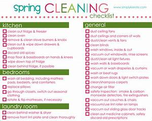 Spring Cleaning Checklist, Tips & Free Printable