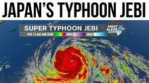 Typhoon Jebi batters Japan, 25 वर्षों में सबसे विनाशक ...