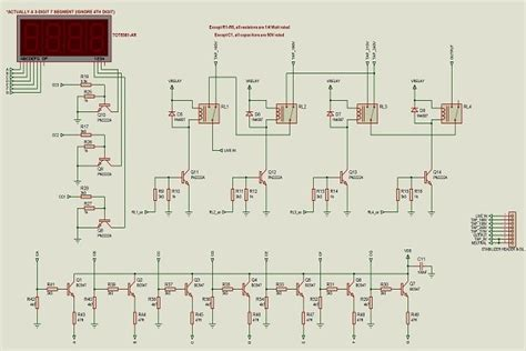Automatic Voltage Stabilizer Circuit Diagram