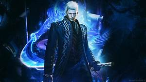 Devil May Cry 4 SE Vergil Wallpaper By TheSyanArt On