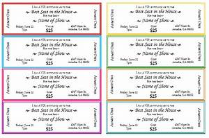 event ticket templates make your own printable tickets With car wash tickets templates free