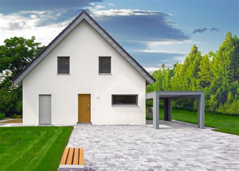 Haus Eingang Giebelseite by Musterh 228 User