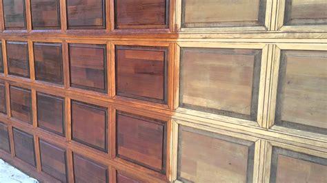 garage door restoration  refinishing youtube
