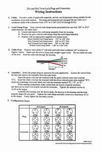 20a 250v Power Plug Nema L6-20p