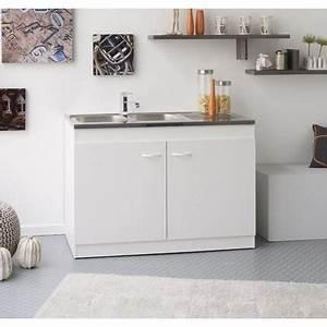 Meuble Sous Evier 120 : meuble sous evier 120 achat vente meuble sous evier ~ Nature-et-papiers.com Idées de Décoration