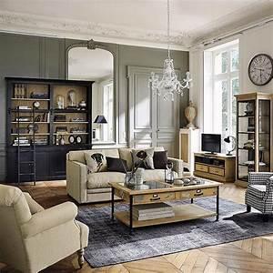 Deco Salon Maison Du Monde : d co salon meubles d co d int rieur classique chic maisons du monde ~ Teatrodelosmanantiales.com Idées de Décoration