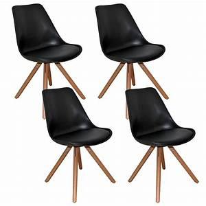 Chaise Design Noir
