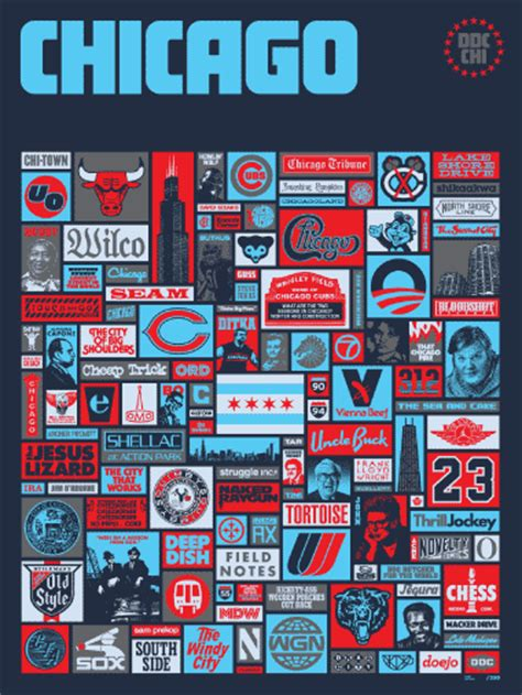 draplin design  ddc  super chicago poster