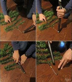 how to dismantle a christmas tree a husband and take apart a tree for this brilliant porch idea trees porch and