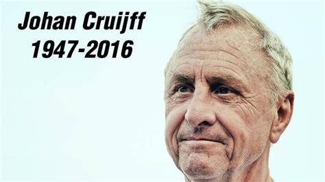 He was a dutch icon. Johan Cruijff Stats Gallery - Goal.com