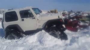 Snow Tracks 4x4 Jeep Awesome Offroad Vehicle Cj Wrangler